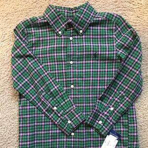 😎 RL Polo Button Down shirt Size 6 😎